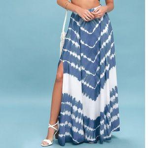 Lulus skirt maxi